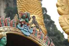 A monkey at Batu Caves