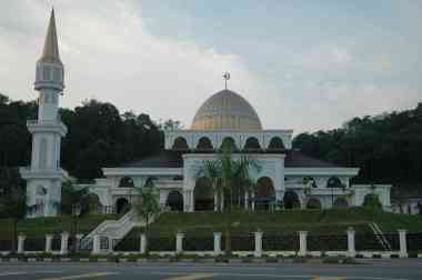 A good looking mosque