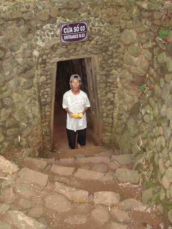 My tour guide for war time tunnels of Vinh Moc