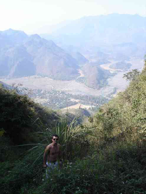 Luke in Mai Chau