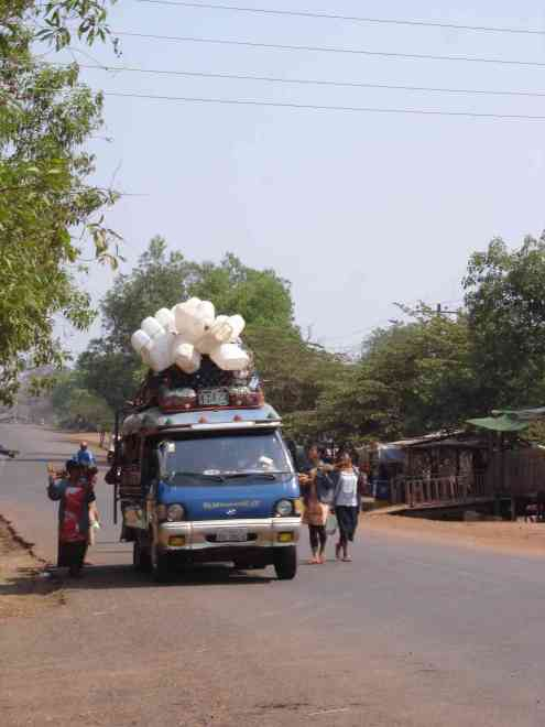 Laos drive-through