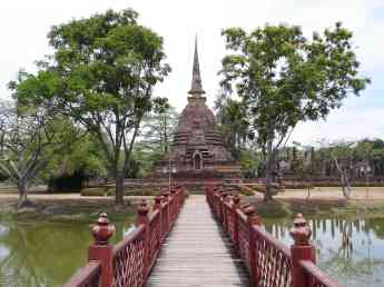 The ruins of Sukhothai