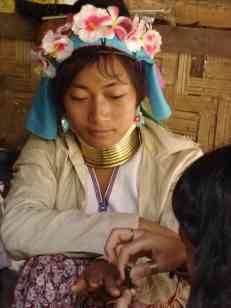 Karen woman in Ban Nai Soi