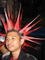 A Thai punk rocker