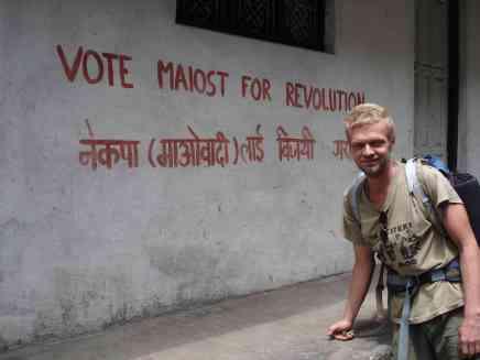 Jarda voting Maoist