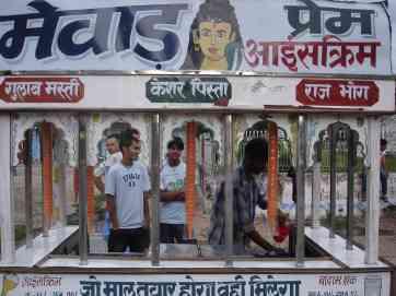A Nepali ice-cream truck
