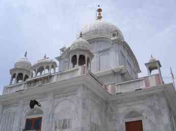 The Paonta Sahib gurdwara