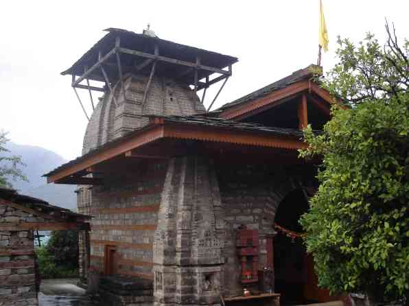 An old Shiva temple in Naggar