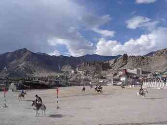 Leh surely has the most spectacularly set polo field in the world