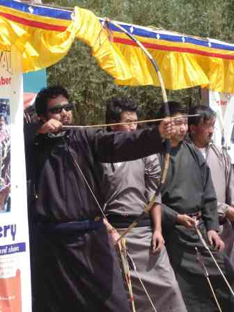 An archery competition