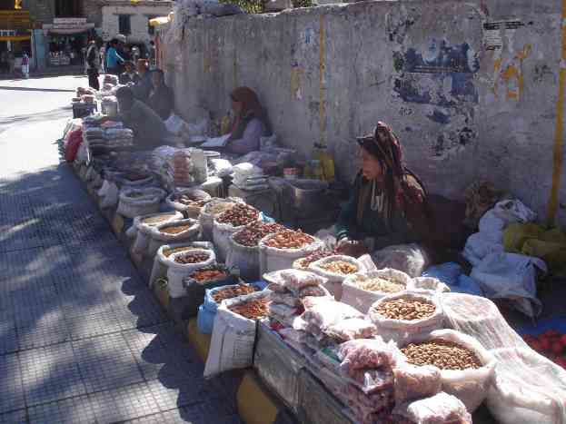 The fruit and nut wallahs in Leh