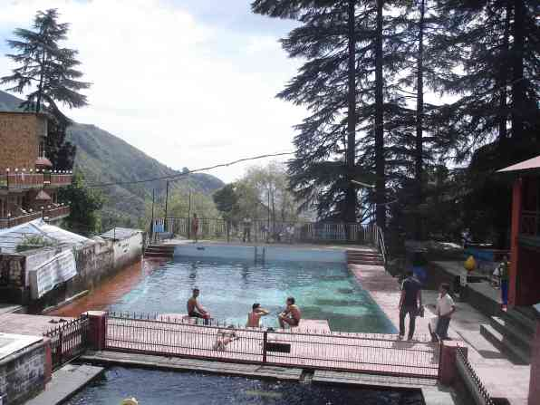 The Bhagsu public pool