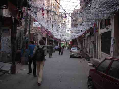 Strolling the deserted streets of Lahore during the protests and Basant