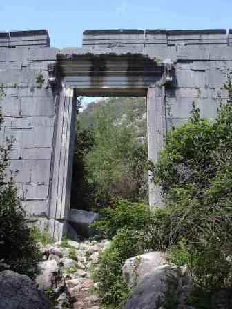 Ruins in Olympos