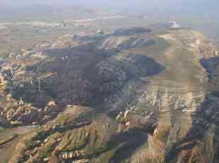 Flying over Cappadocia