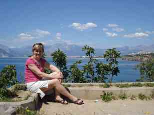 Mum in Antalya