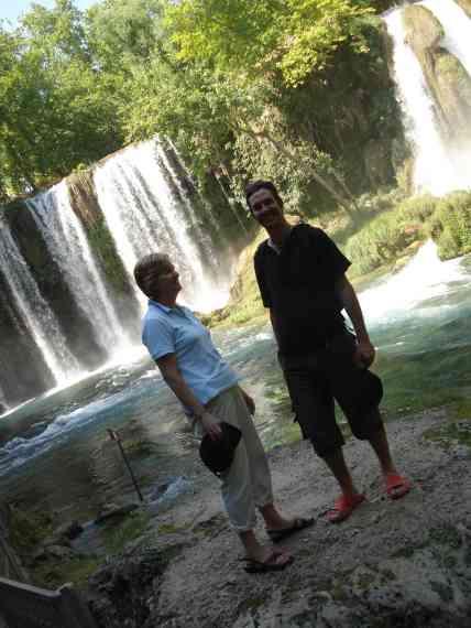 The stunning Duden waterfalls
