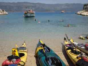 Kayaking in Kas