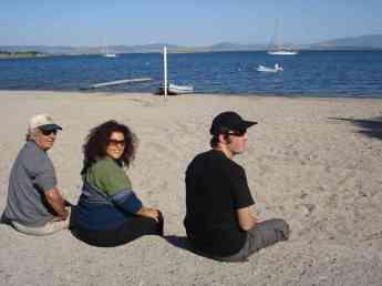Reunited with Phil, Karel & Tehani-Li