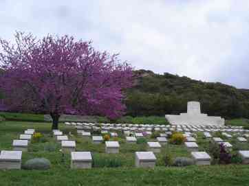 Memorial ground in Gallipoli